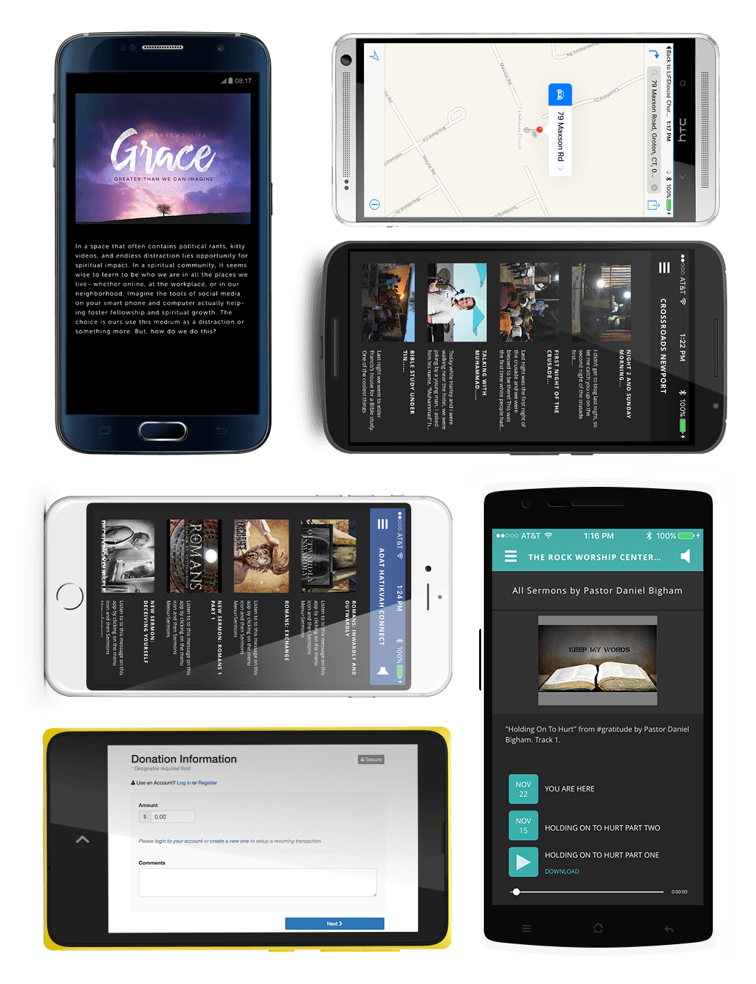 The Church App For IOS and Android Phones