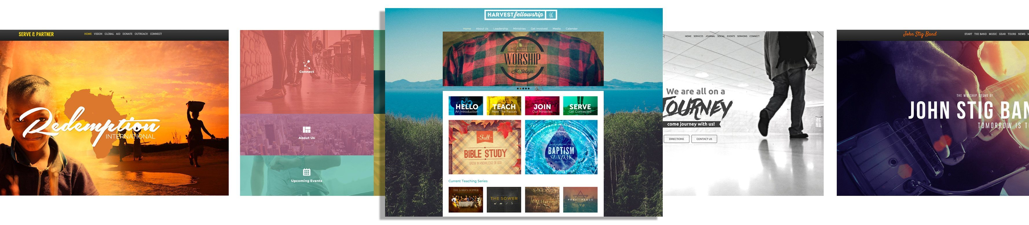 Sharefaith Church Website Templates